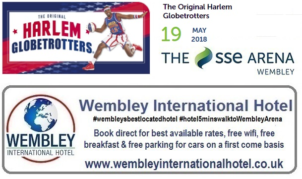 Harlem Globetrotters at The SSE Arena, Wembley 2018