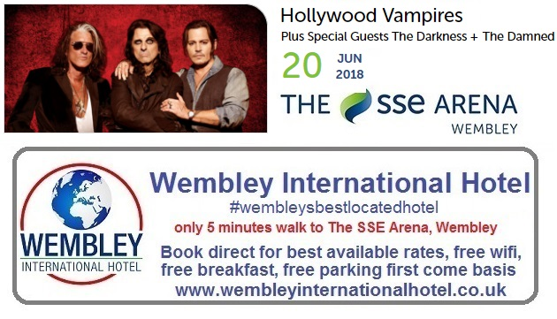 Hollywood Vampires Wembley 2018