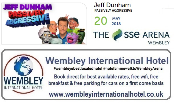 Jeff Dunham Wembley 2018