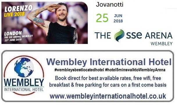 Jovanotti Wembley 2018