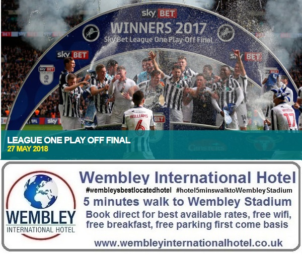 League One Play Off Final Wembley Stadium
