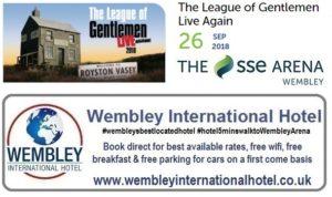 League of Gentlemen Live Wembley 2018