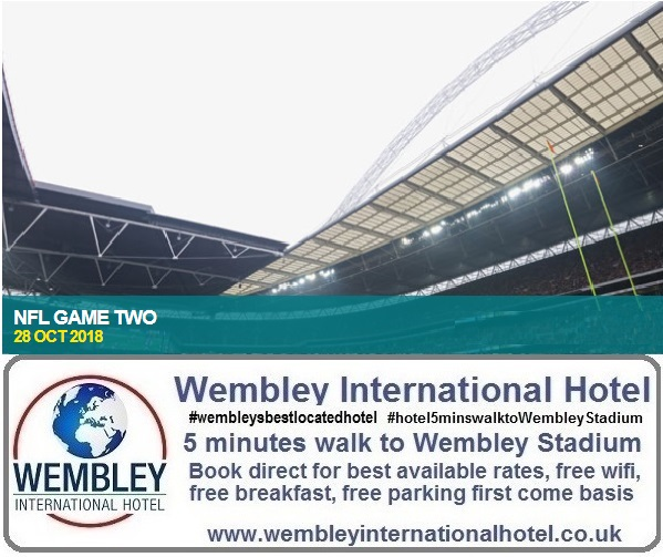 NFL Game Two at Wembley Stadium