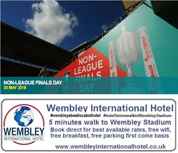 Non League Finals Day Wembley Stadium 2018
