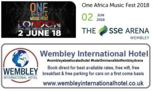 One Africa Music Fest Wembley 2018