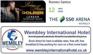 Romeo Santos Wembley 2018