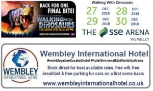 Walking with Dinosaurs Wembley 2018