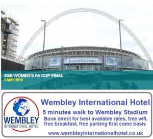 Womens FA Cup Final Wembley Stadium 2018