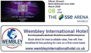1 Music 1 Sound at The SSE Arena, Wembley