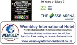 40 Years of Disco 2 at The SSE Arena, Wembley 22 March 2019