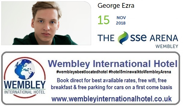 George Ezra The SSE Arena, Wembley 2018