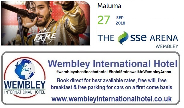 Maluma at The SSE Arena, Wembley