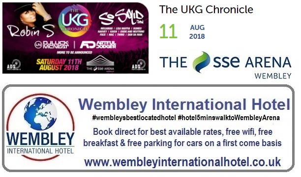 The UKG Chronicle Wembley 2018