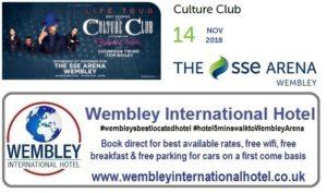 Culture Club at The SSE Arena, Wembley