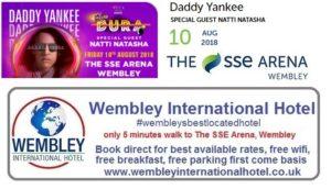 Daddy Yankee Wembley 2018