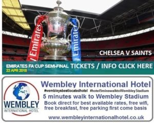 Chelsea v Southampton FA Cup Semi Final 2018