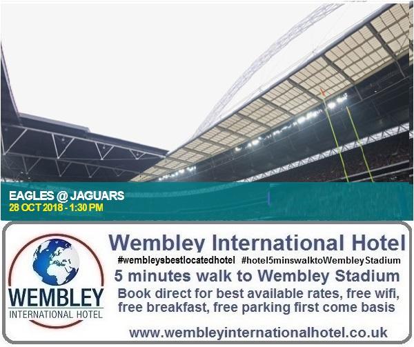 NFL Eagles v Jaguars Wembley 2018