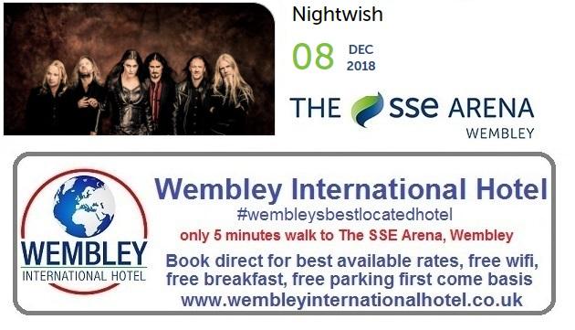 Nightwish Wembley 2018