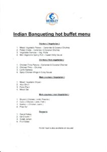 Indian Banqueting