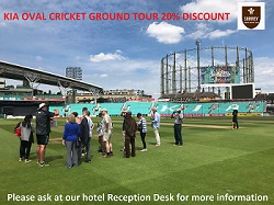 KIA Oval Cricket Ground Tour 20% discount