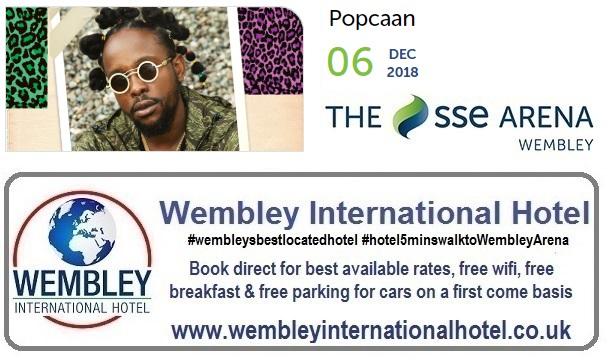 Popcaan at The SSE Arena, Wembley