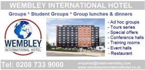 Wembley International Hotel rates for groups