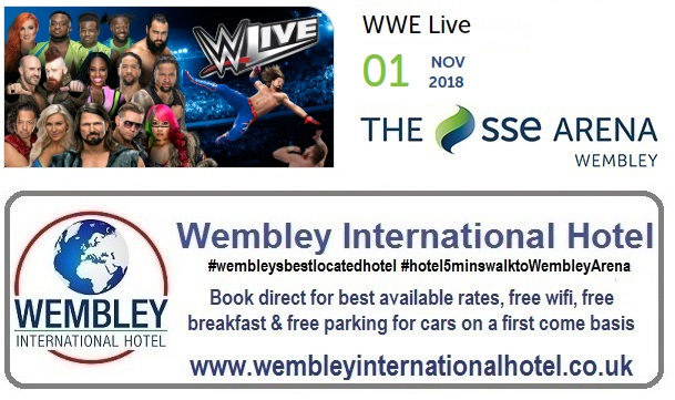 WWE Live 2018 at Wembley Arena