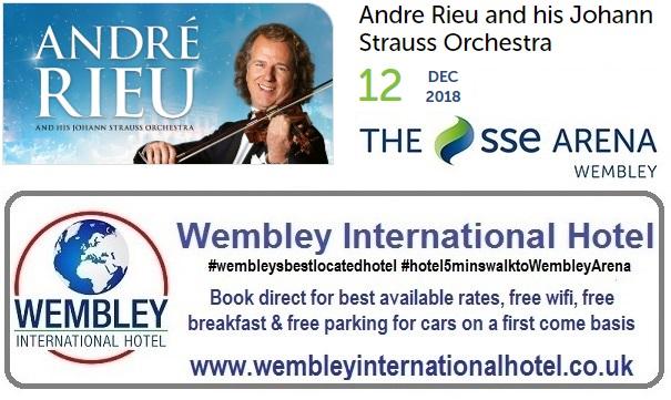 Andre Rieu at The SSE Arena Wembley Dec 2018
