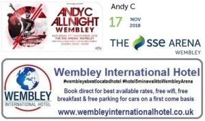 Andy C at The SSE Arena, Wembley 17 Nov 18