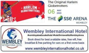 Harlem Globetrotters at The SSE Arena, Wembley 2019