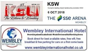 KSW at The SSE ARENA, Wembley 2018