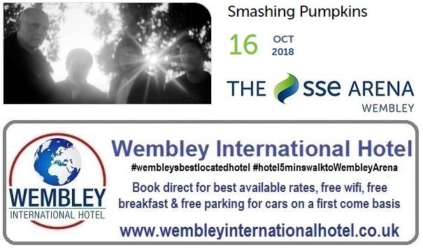 Smashing Pumpkins Wembley Arena 2018