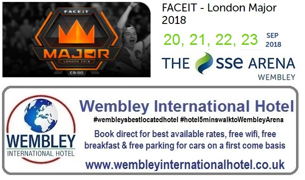 Faceit at the The SSE Arena Wembley