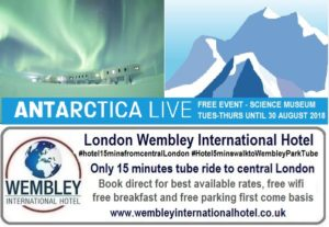Antartica Live at The Science Museum London