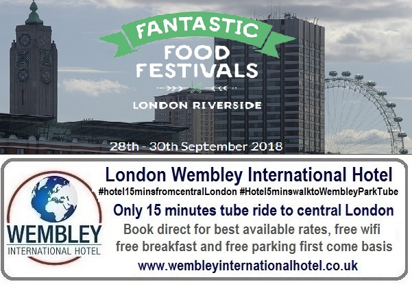 London Food Festival Sep 2018