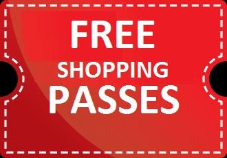 Free London Wembley Shopping Passes