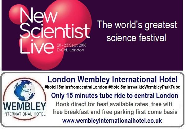 New Scientist Live London Sep 2018