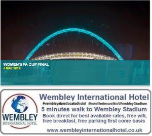 Womens FA Cup 2019 Wembley