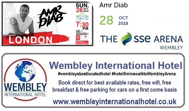 Amr Diab at The SSE Arena, Wembley