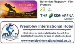 Bohemian Rhapsody Film Premiere at The SSE Arena Wembley