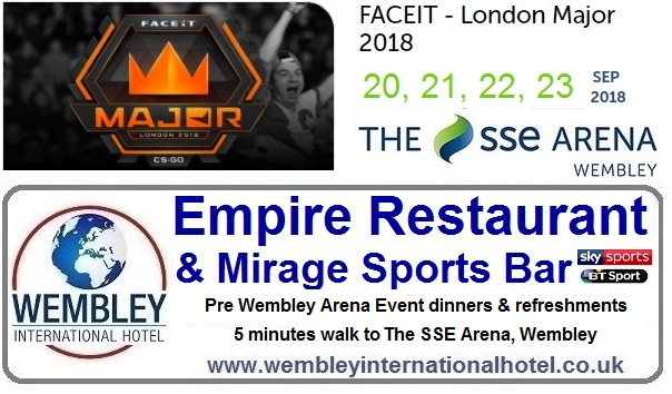 Restaurant near The SSE Arena Wembley
