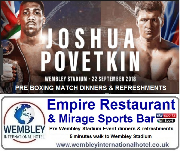 Empire Restaurant Wembley