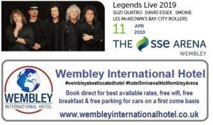 Legends Live at The SSE Arena Wembley