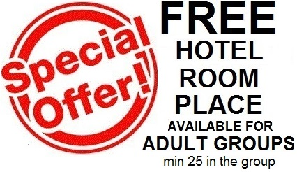 London Wembley hotel special offer rates for groups and student groups