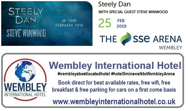Steely Dan at The SSE Arena Wembley 25 Feb 2019