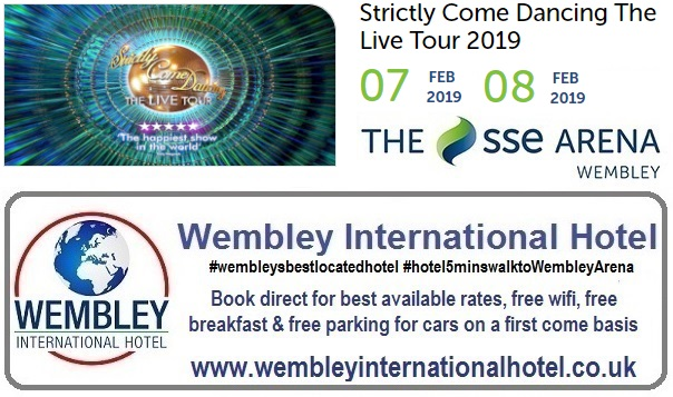 Strictly Come Dancing at The SSE Arena Feb 2019
