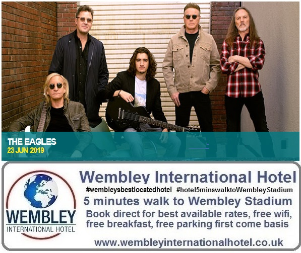 Wembley Stadium The Eagles 2019