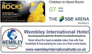 BBC Children in need Rocks Wembley 2018