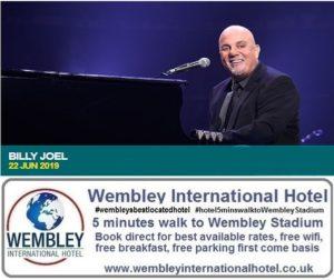 Billy Joel Wembley June 2019