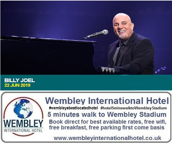 Billy Joel Wembley June 2019